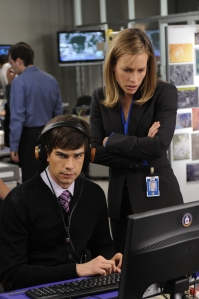 Actor Christopher Gorham, who was Ugly Betty's boyfriend, plays a charming blind CIA agent on Covert Affairs