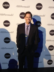 Brett on the red carpet at HSN's Manhattan party