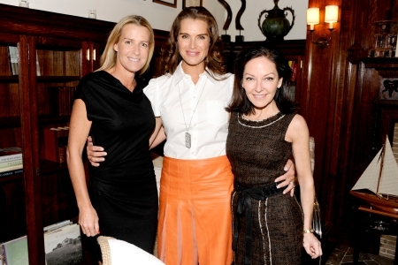 India Hicks, Brooke Shields and Gigi Ganatra-Duff