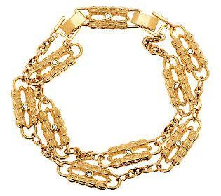One of the 'tacky' Kennedy pieces, Jackie's 'paperclip' necklace