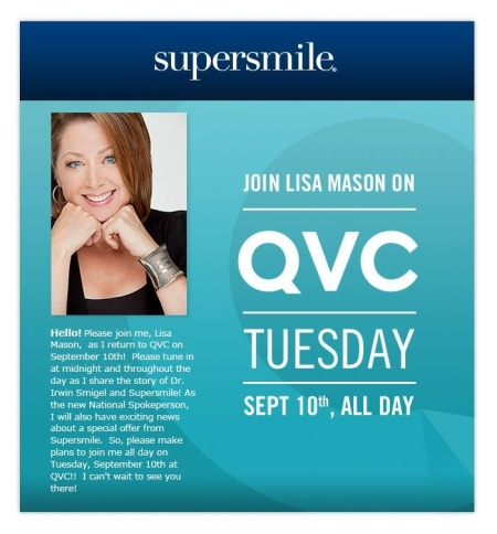 Lisa Mason returns to QVC
