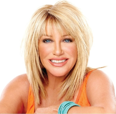Best-selling author Suzanne Somers