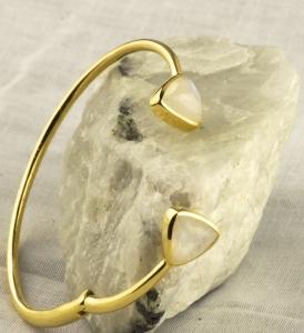 Hilary Joy moonstone bracelet