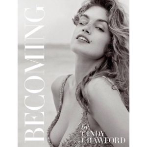 Cindy Crawford promoted her new book on Evine Live last week.