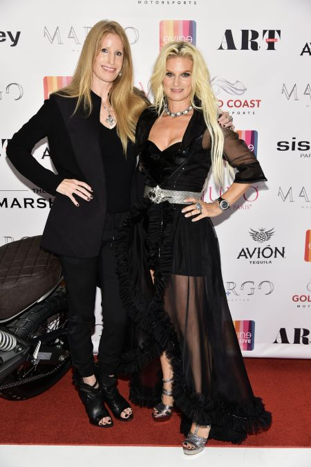 Evine Live's CMO Penny Burnett, left, and Margo Manhattan. Photo credit Rob Rich/SocietyAllure.comj